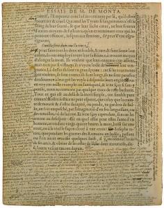 Bibliothèque de Bordeaux, S 1238 Rés.coffre, « De Democritus & Heraclitus » f. 306. Numérisation P. Desan, U. de Chicago.